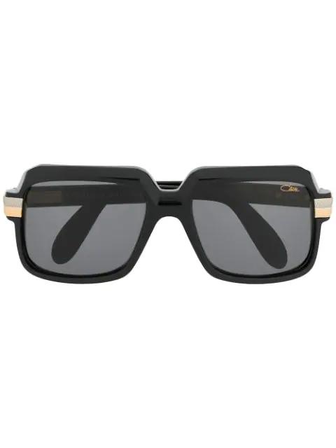 Cazal Oversized Sunglasses In Black