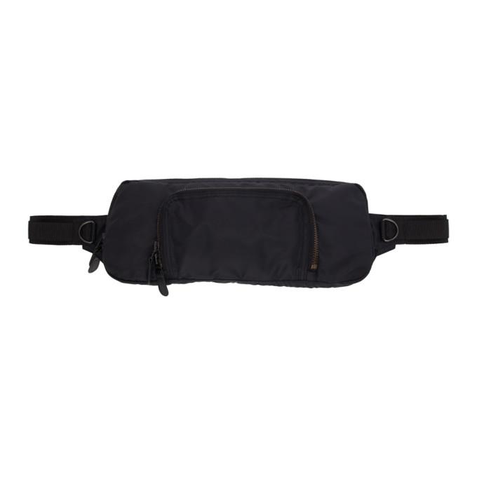 Junya Watanabe Black Waist Bag In 1 Black