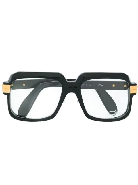 Cazal Square-frame Glasses In Black