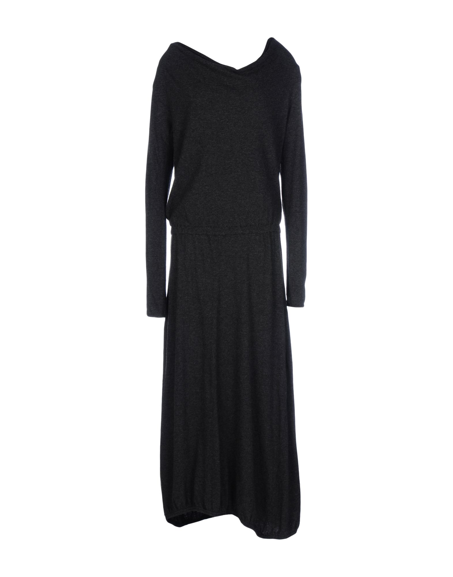 Crossley Long Dress In Steel Grey