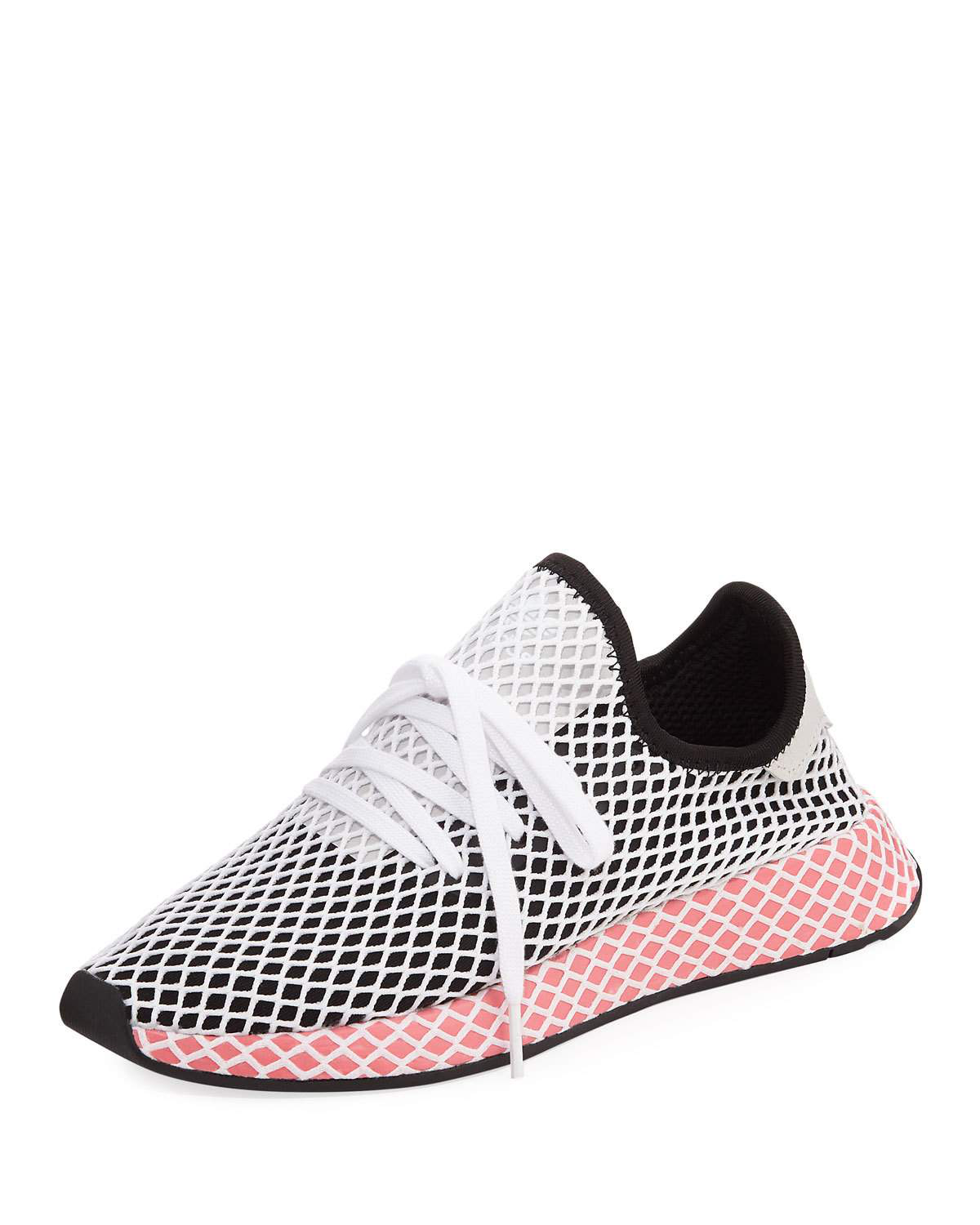 new concept 71d6a 58b98 Adidas Originals Sneakers Adidas Deerupt Runner W Sneakers In Knit And Mesh  Stretch Net Effect In