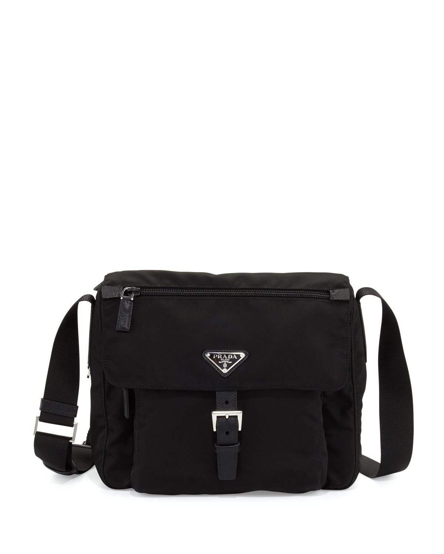 eb0631dae59d Prada Small Nylon Crossbody Bag, Black (Nero) In 002 Nero B | ModeSens
