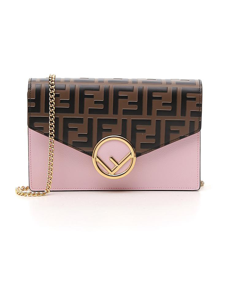 9949ef980f9f Fendi Ff Chain Strap Wallet Bag In Multi. CETTIRE