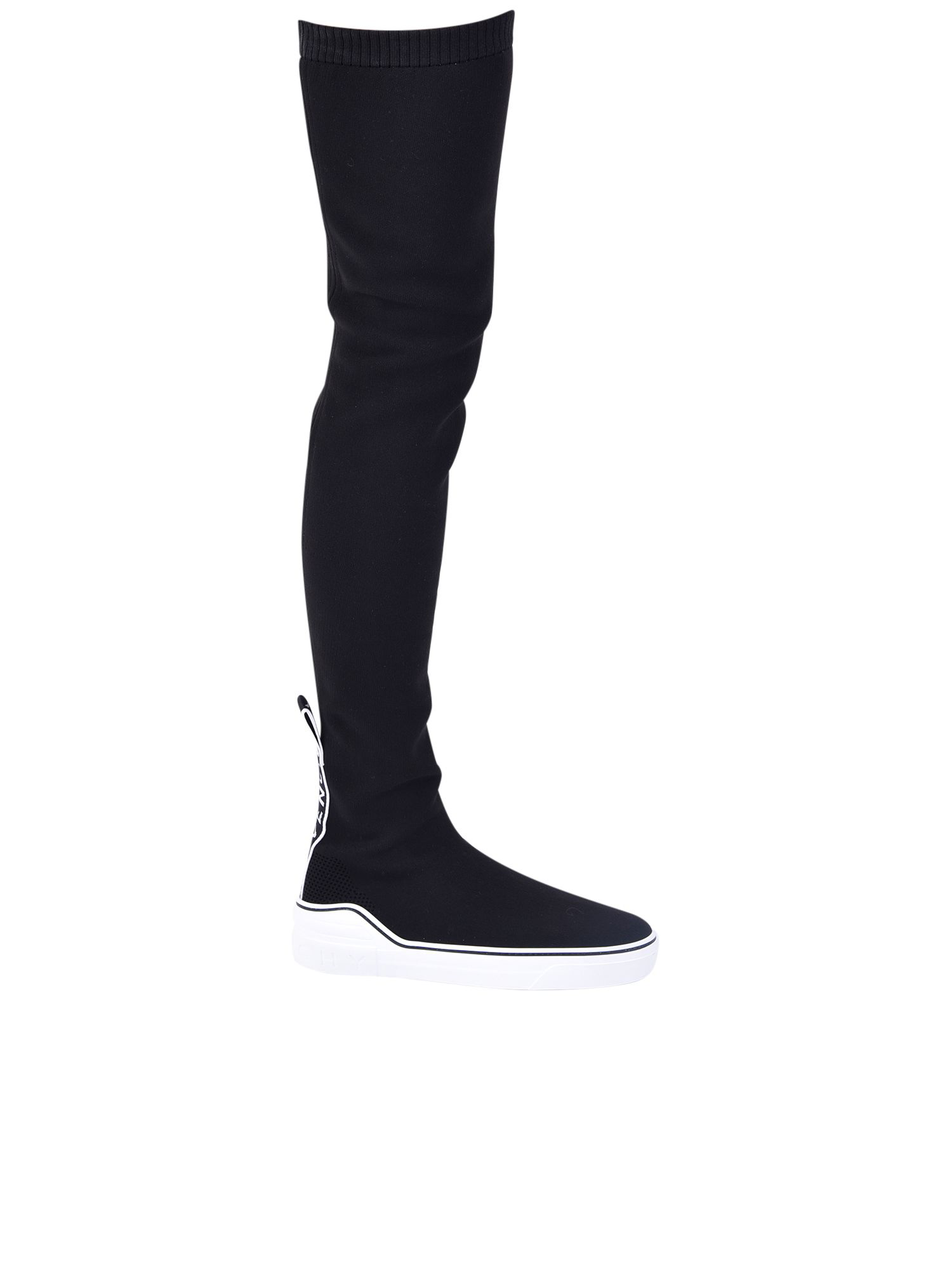 d8d35e0a4cd Givenchy George V Over-The-Knee Sneaker Boots