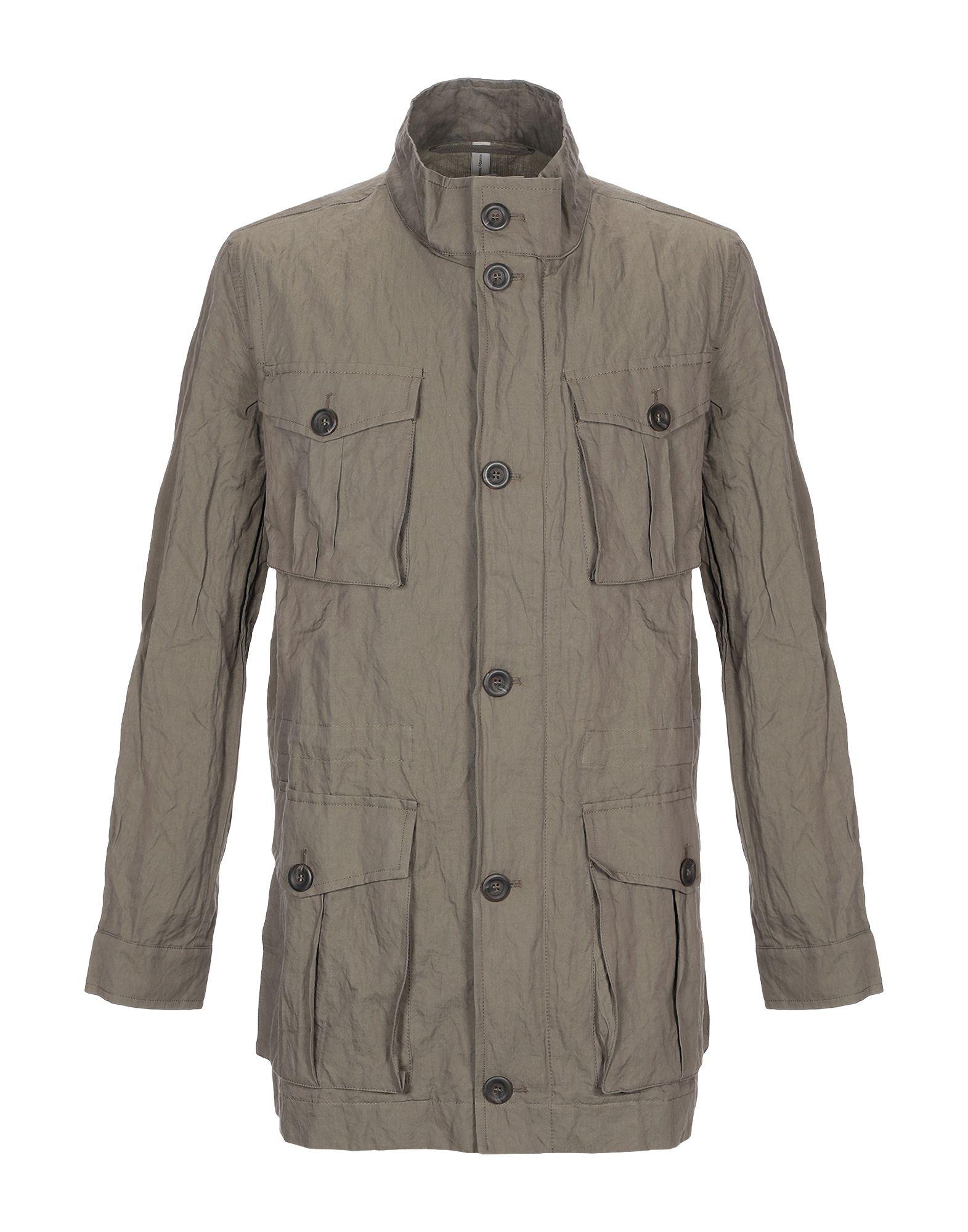Novemb3r Full-length Jacket In Military Green