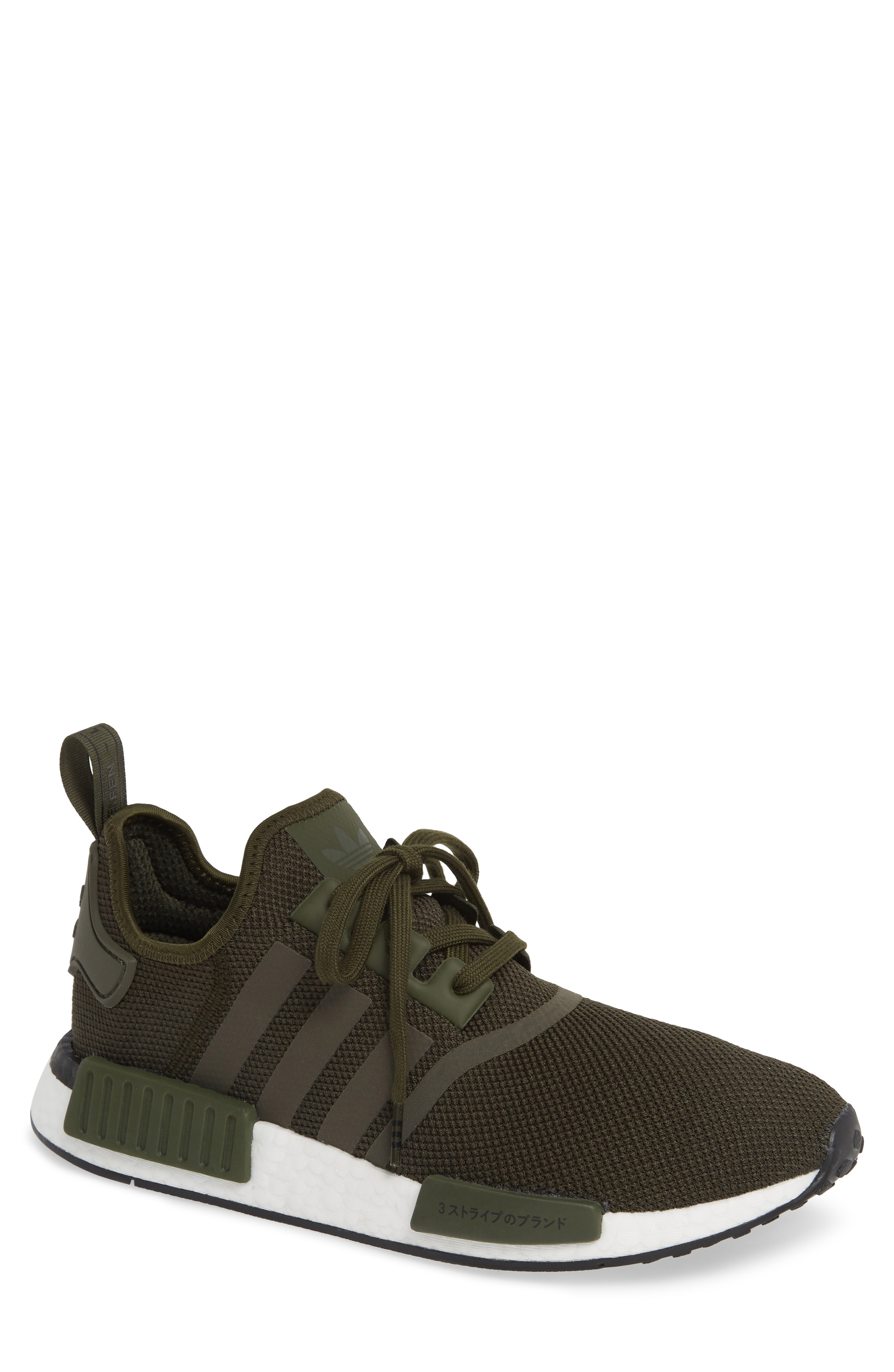 306df5dc2 Adidas Originals Adidas Men s Nmd R1 Casual Sneakers From Finish Line In Night  Cargo Night