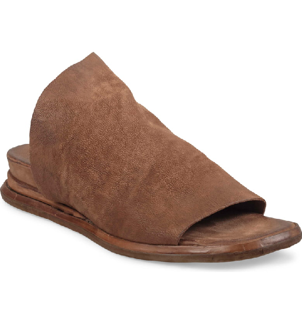 A.s.98 Siv Sandal In Whiskey