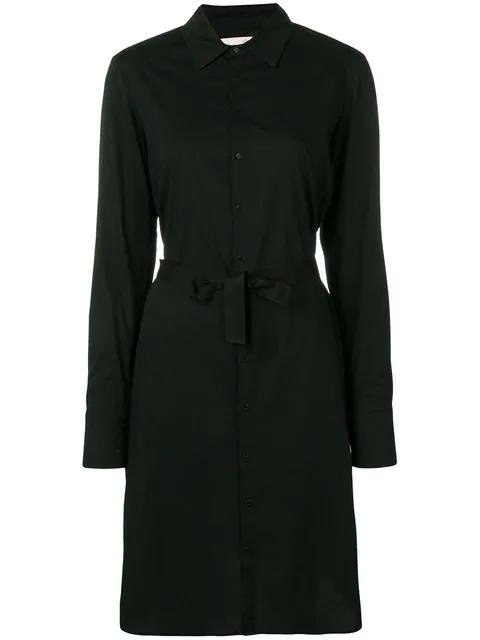 A.F.Vandevorst Dating Shirt Dress In Black