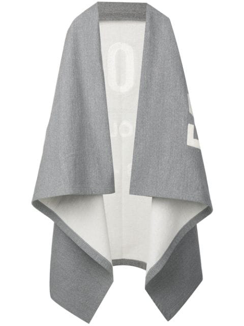 Fear Of God Oversized Poncho In Grey