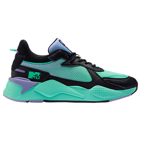 puma men's rsx tracks mtv gradient casual shoes blue