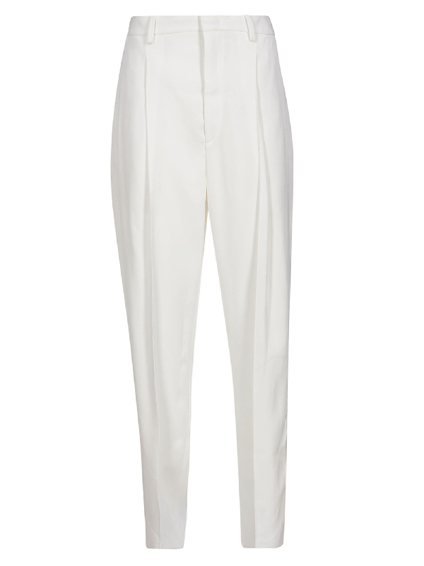 Isabel Marant Poyd Trousers In White