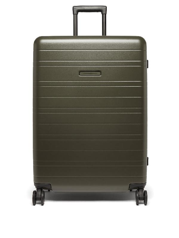 Horizn Studios Model H Large Check-in Suitcase In Khaki