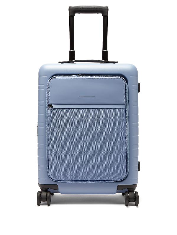 Horizn Studios M5 Smart Hardshell Cabin Suitcase In Blue