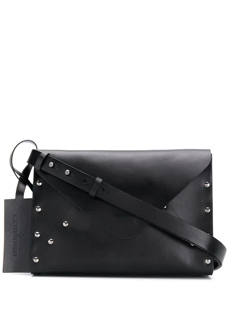 A.F.Vandevorst Studded Crossbody Bag In Black