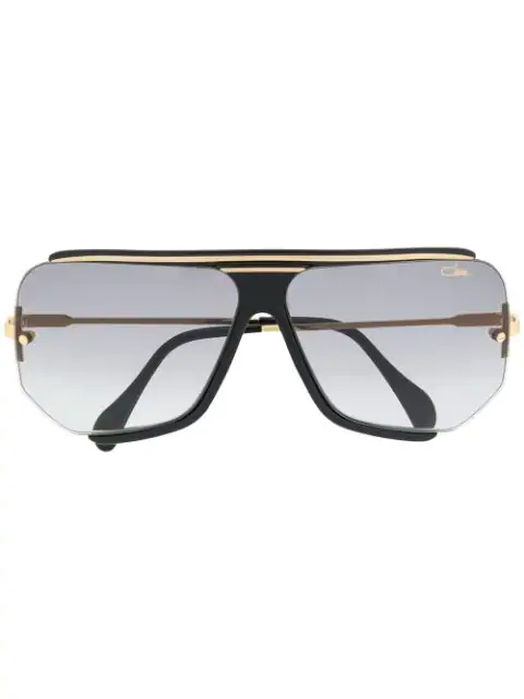 Cazal Oversized Sunglasses In Black