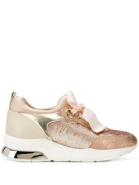 Liu •jo Karlie Chunky Sneakers In Pink