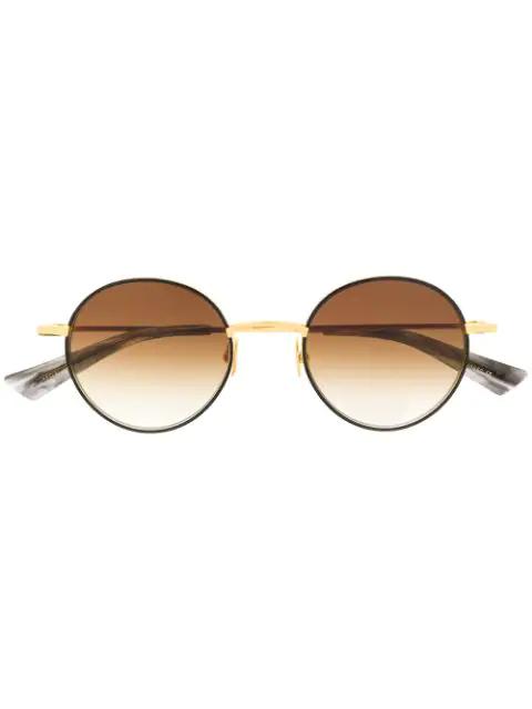 Christian Roth Aemic Sunglasses In Gold