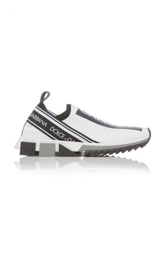 Dolce & Gabbana Dolce And Gabbana White Logo Sorrento Runner Sneakers In 89697 White
