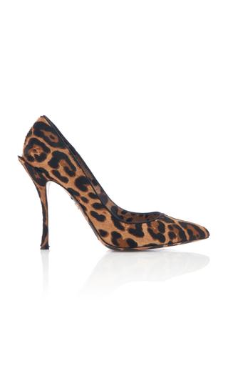 Dolce & Gabbana Decollete 'in Cavallino With Leopard Print