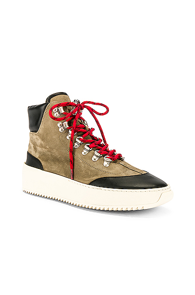 Fear Of God 6Th Collection Hiker Suede High-Top Sneakers  In 304