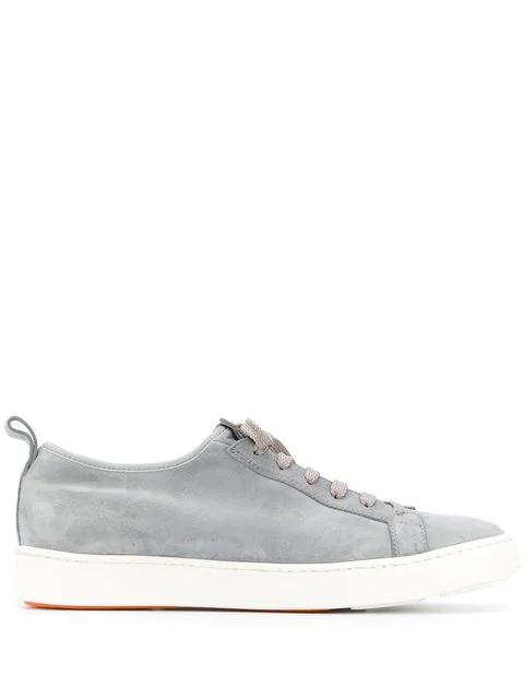 Santoni Low Top Sneaker (Grey)