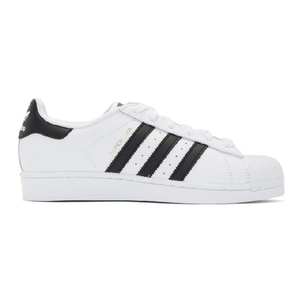 Adidas Originals Adidas Women's Originals Superstar Casual Sneakers From Finish Line In White/black