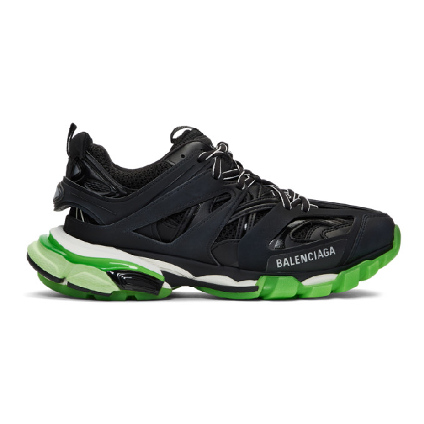 Balenciaga M Track Glow-in-the-dark Sneakers - 黑色 In Black/glow