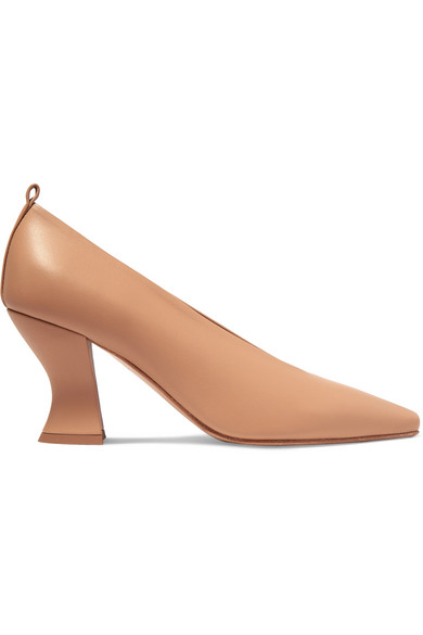 Bottega Veneta Nude Nappa Leather Dream Pumps In Neutral