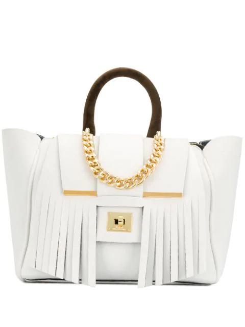 Alila Indie Tote Bag In White