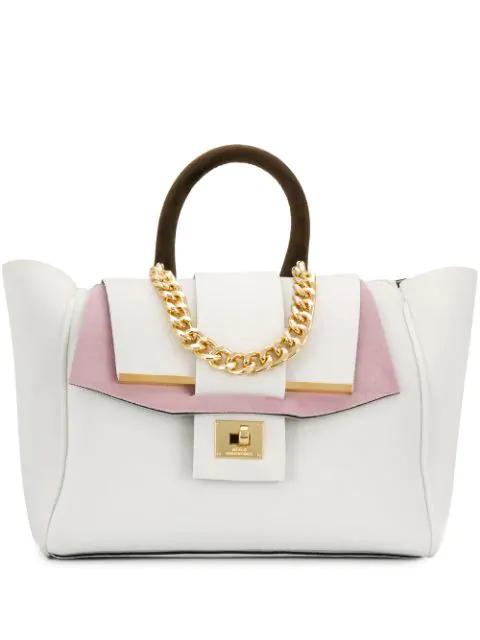 Alila 'Venice' Handtasche In White