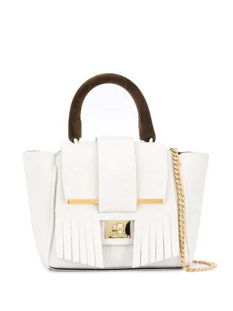 Alila Kleine 'Indie' Handtasche In White