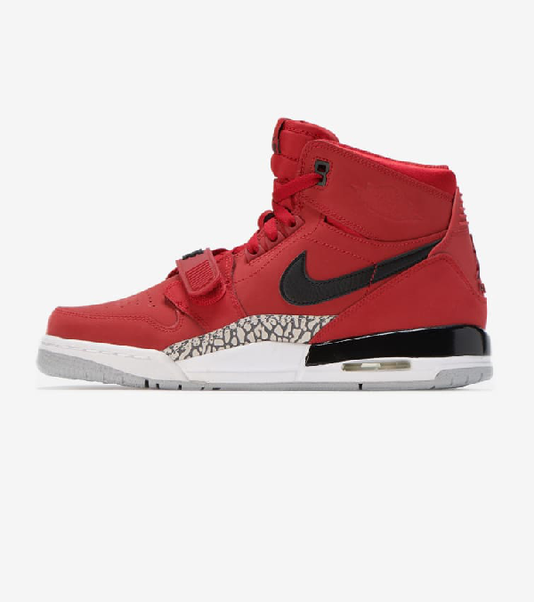 big sale 78324 0c39f Jordan Legacy 312 Bg In Red