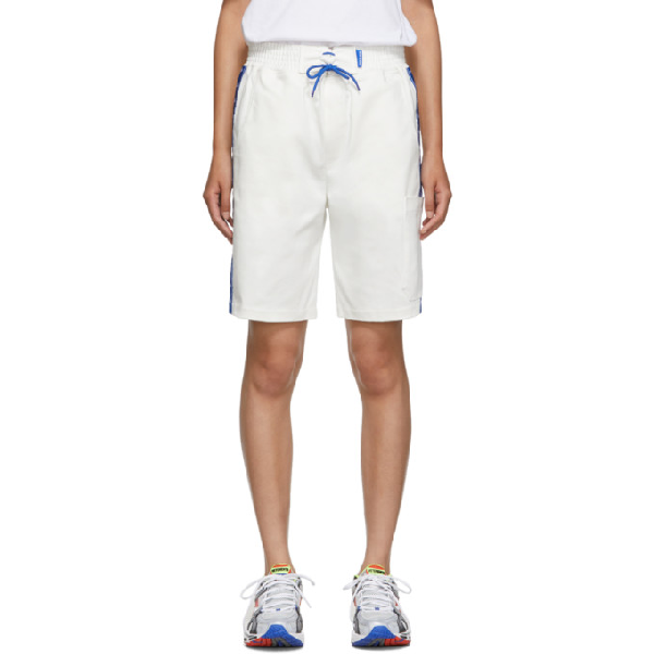 Anton Belinskiy Ssense Exclusive White Twill Shorts