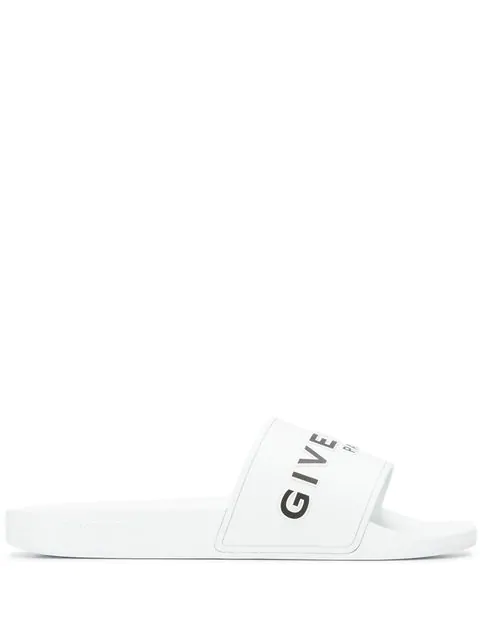 Givenchy Men's Slippers Sandals Rubber In White