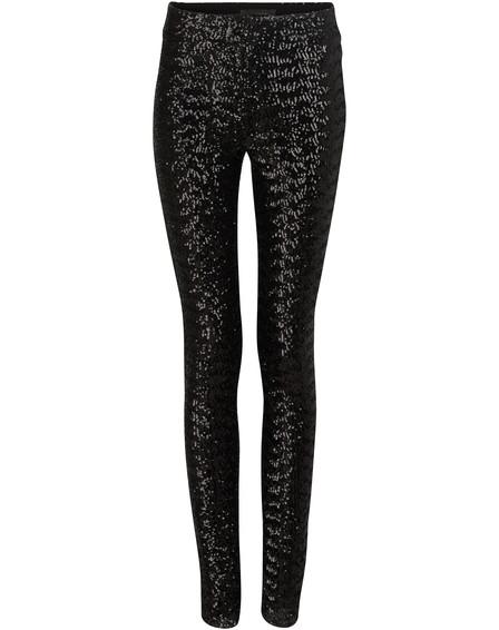 Isabel Marant Odiz Sequinned Trousers In Black