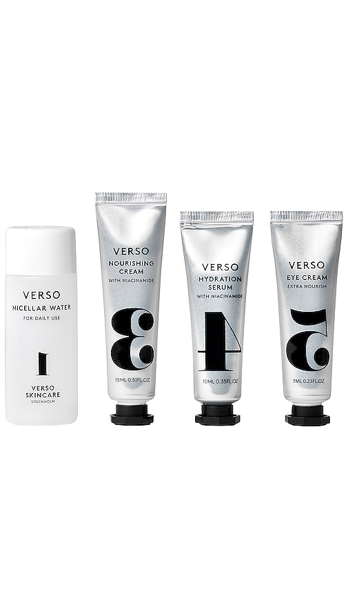 Verso Skincare Nourishing Experience Kit In N,a