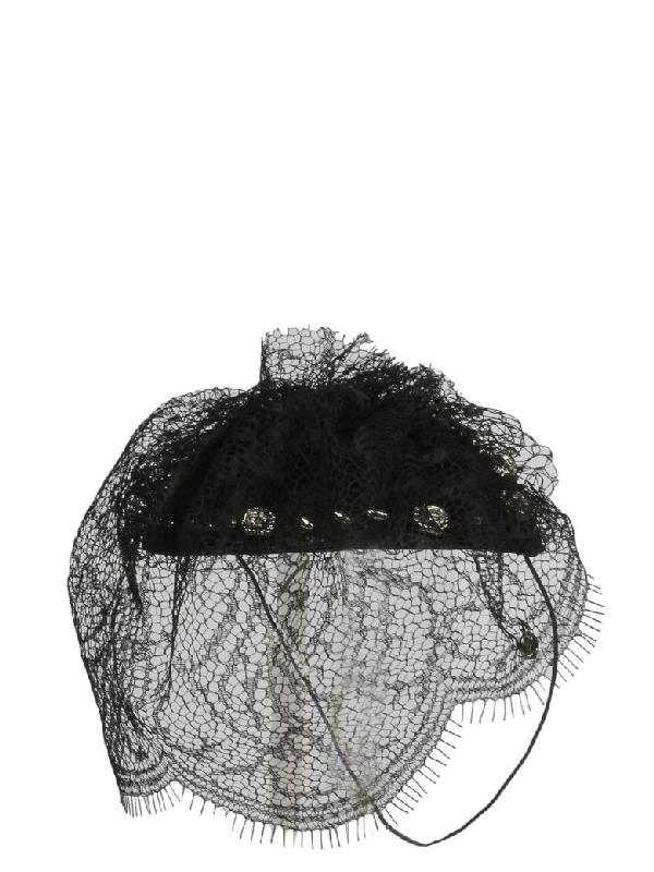 Maison Michel Cappello In Black