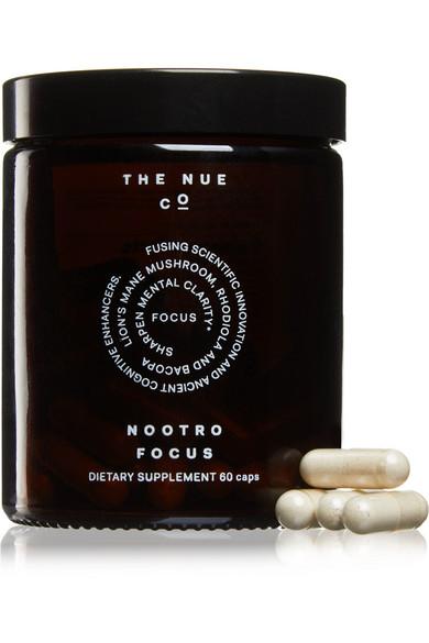 The Nue Co. Nootro-focus (60 Capsules) - Colorless