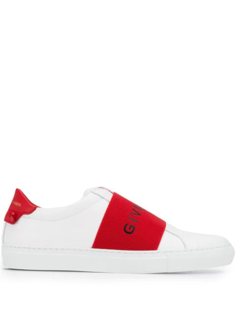 Givenchy Urban Street Sneakers With Logo Elastic Band In White