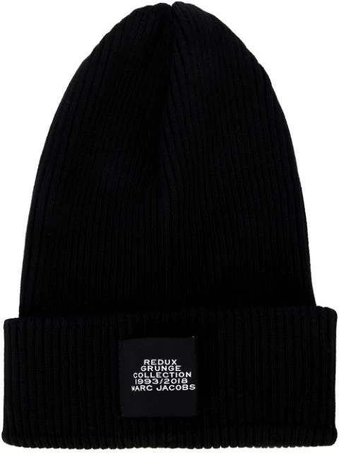 Marc Jacobs Beanie Hat In Black