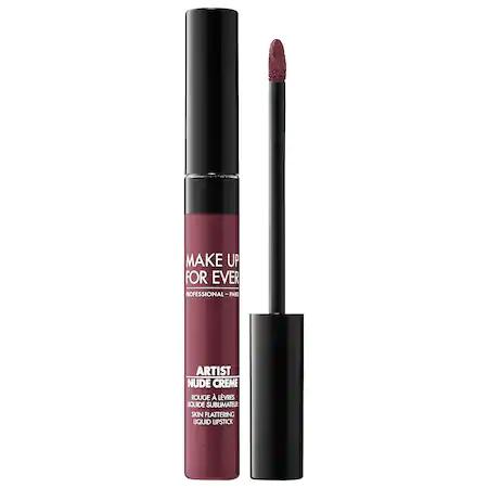 Make Up For Ever Artist Nude Creme Liquid Lipstick 12 Bare 0.25 oz/ 7.5 ml