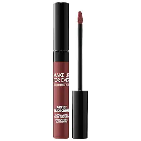 Make Up For Ever Artist Nude Creme Liquid Lipstick 11 Undraped 0.25 oz/ 7.5 ml