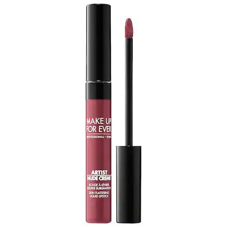 Make Up For Ever Artist Nude Creme Liquid Lipstick 10 Natural 0.25 oz/ 7.5 ml