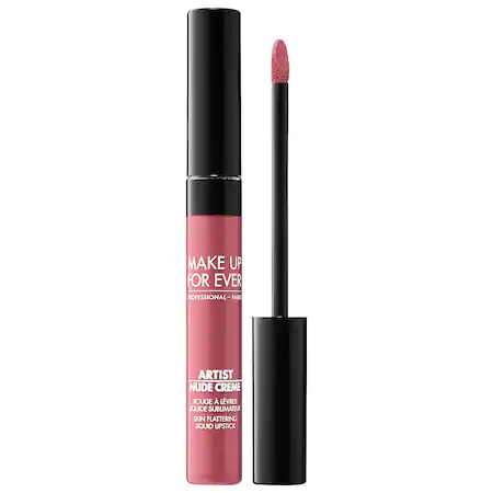 Make Up For Ever Artist Nude Creme Liquid Lipstick 6 Nude 0.25 oz/ 7.5 ml