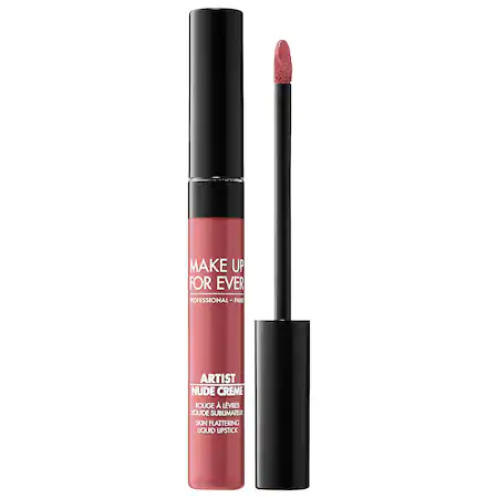 Make Up For Ever Artist Nude Creme Liquid Lipstick 7 Smolder 0.25 oz/ 7.5 ml