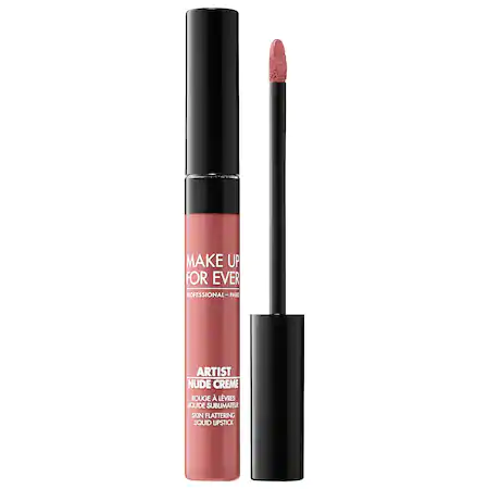 Make Up For Ever Artist Nude Creme Liquid Lipstick 5 Exposed 0.25 oz/ 7.5 ml