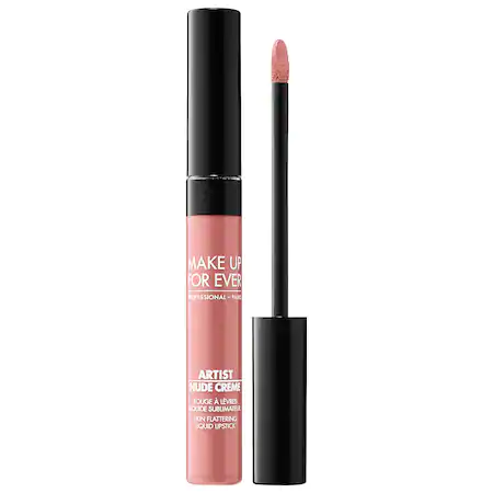 Make Up For Ever Artist Nude Creme Liquid Lipstick 1 Uncovered 0.25 oz/ 7.5 ml
