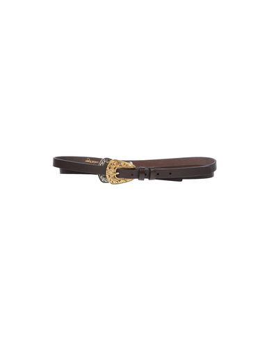 Ottod'ame Thin Belt In Dark Brown