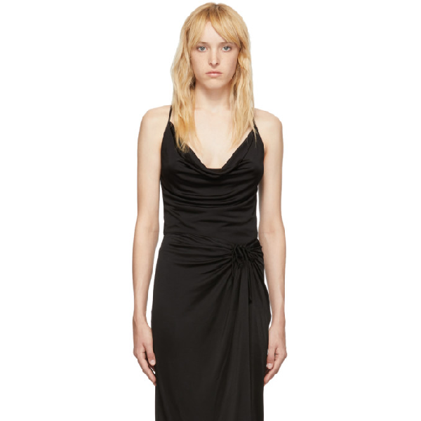 Opening Ceremony Cowl Neck Tank In 0001 Black