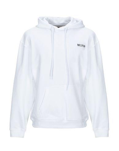 Muf10 Hooded Sweatshirt In White